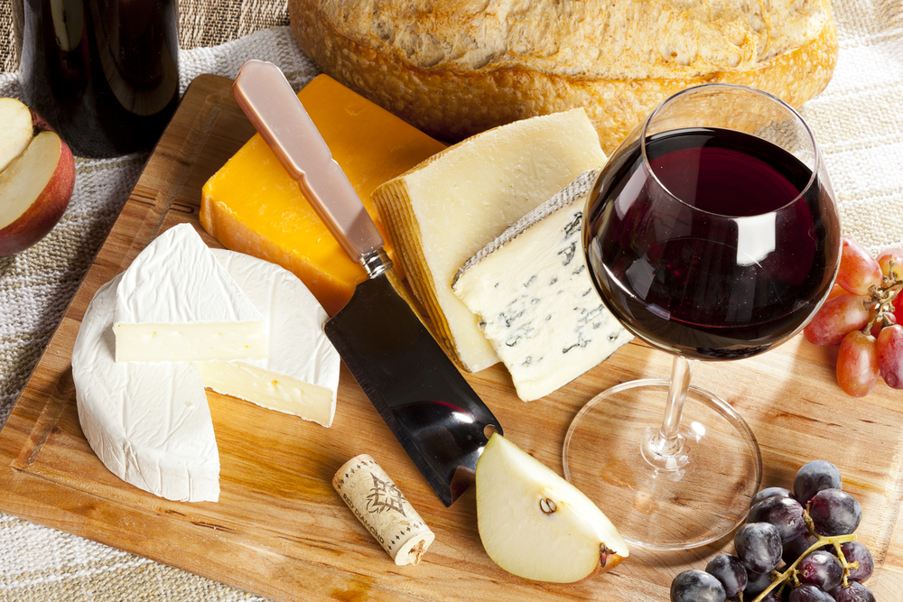 Dégustation vins Fromages